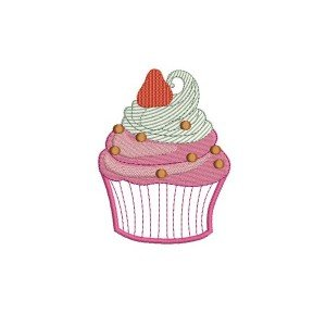 CUP CAKE FRAISE