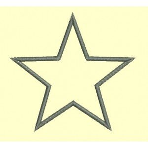 étoile appliqué